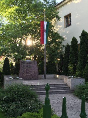 Trianon statue Trianon Bicske, Hungary Statue Szobor World War 1 Memorial