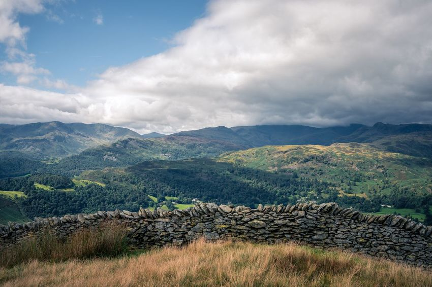 EyeEm Selects Great Rigg - Lake District Mountain Nature Agriculture Sky Landscape Tranquil Scene Cloud - Sky Beauty In Nature Scenics Tranquility Day No People Mountain Range Field Outdoors Rural Scene Grass Tree Lake District Great Rigg The Week On EyeEm
