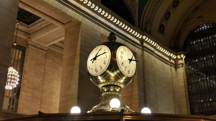 Clock in Grand Central Station Clock Grand Central Station New York New York City Travel Travel Photography Good Times Pixelxl2 Followme Clock Face