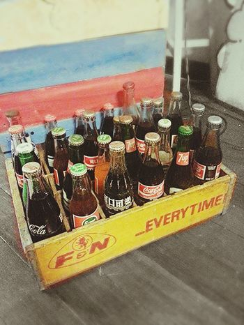 I need ice cubes now!! Taking Photos Bottle Enjoying Drinks !! Old School