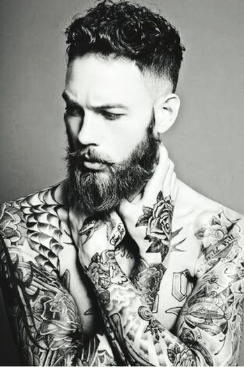 Beardedmen Men Beautiful
