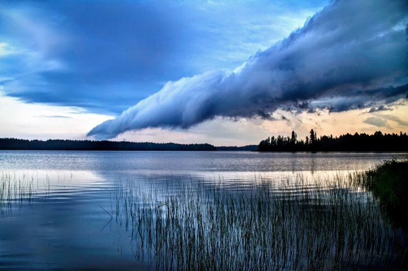 Storm Suomi Finland Storm Sky Clouds And Sky Clouds Cloudporn Lake Landscapes With WhiteWall The Essence Of Summer light and reflection The Great Outdoors - 2017 EyeEm Awards