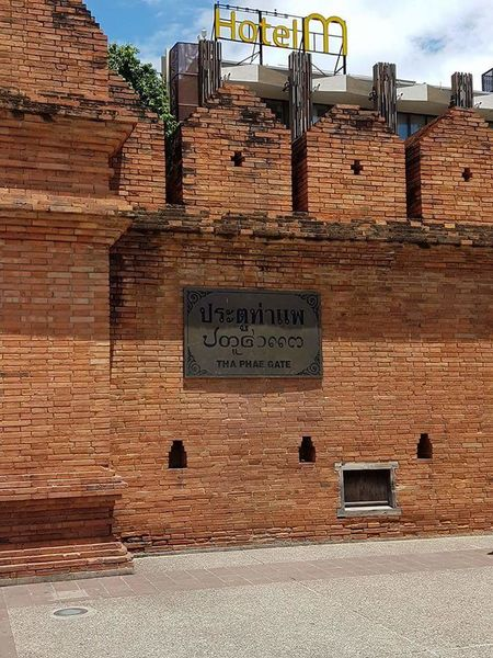 Brick Wall Historic Chiang Mai | Thailand Thailand City Life Old Town Old Meets New #Chiang Mai Wall Sky Architecture Built Structure
