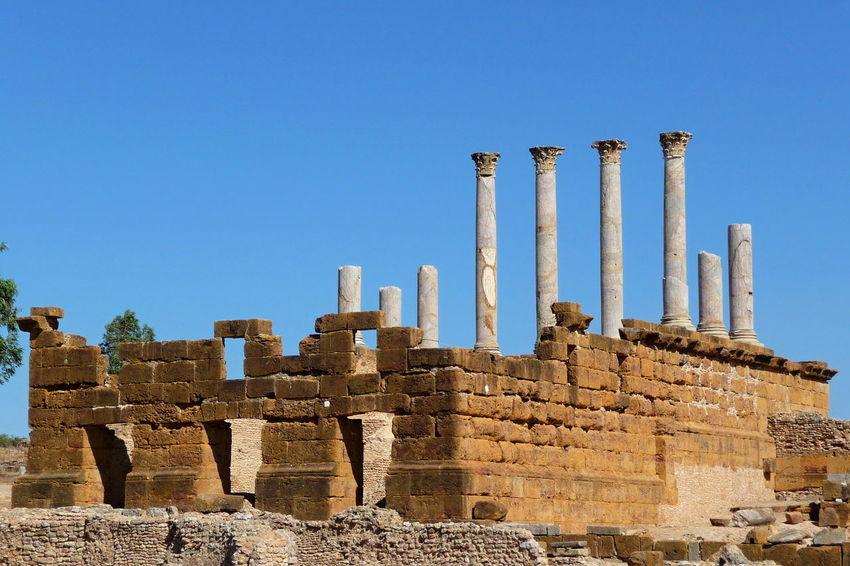 Ancient Civilization Ancient History Ancient Temple Antique Archaeological Sites Archaeology History North Africa Roman City Roman Ruins Roman Temple Thuburbo Majus Tunisia