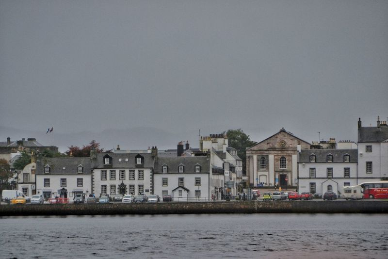 Inverary Cityscape Beach House Outdoors Building Exterior Residential Building Cloud - Sky Landscape No People Urban Skyline Sea Architecture City Day Sky The Graphic City