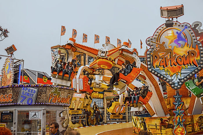 Amusementpark Annakirmes Art Built Structure Culture Day Design Düren HD Kermis Kırmızı Leuk Low Angle View Multi Colored Outdoors Pretpark Travel Destinations