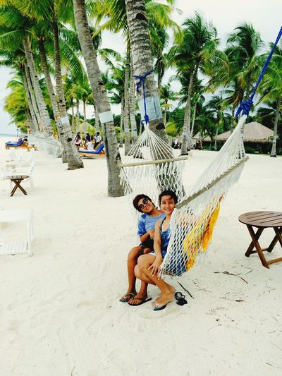 Sisters Hanging Out Vacation Time BoholPhilippines It's More Fun In Bohol Panglao