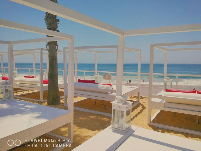 Paradise Paradise Portugal Water Sea Beach Clear Sky Luxury Sand Business Finance And Industry Chair Multi Colored Sky Seascape Ocean Coast Calm