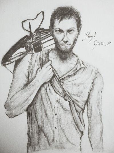 Norman~~~Drawing Thewalkingdead Daryldixon Norman Reedus