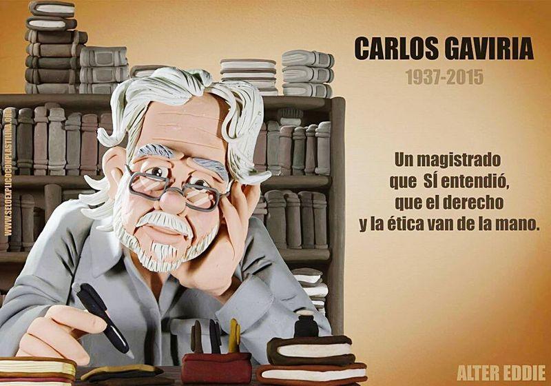 Carlos Gaviria Descanseenpaz ✌😣
