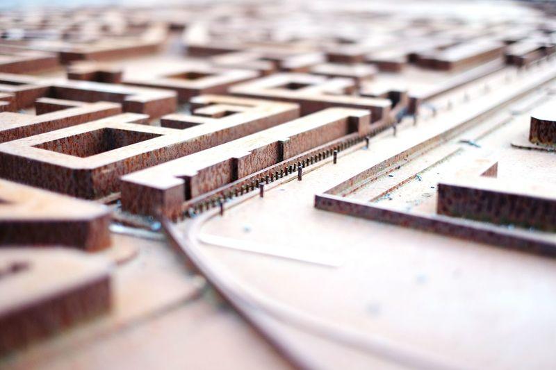 Surface level of maze model