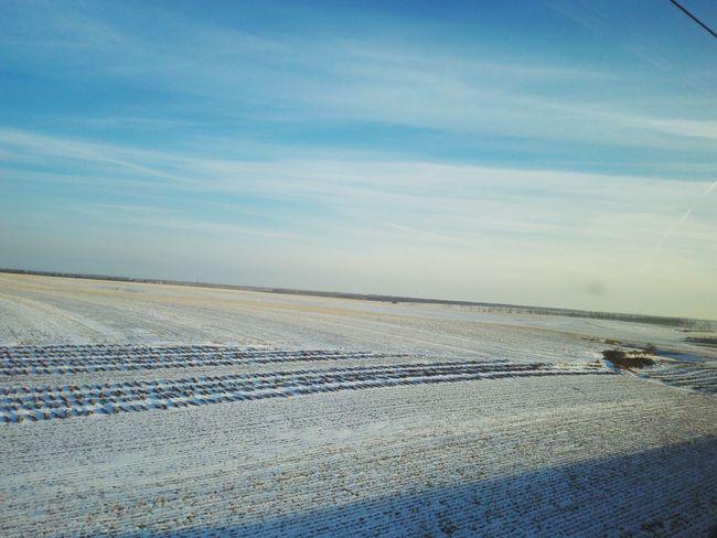 Sky Landscape Snow