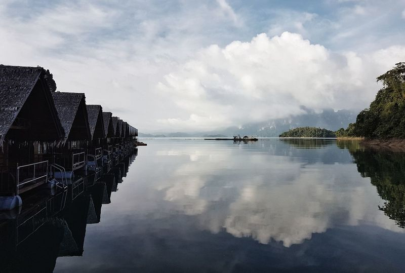 Water Cloud - Sky Reflection Outdoors No People Sky Lake Nature Landscape Scenics Day Nautical Vessel Beauty In Nature The Street Photographer - 2017 EyeEm Awards Lifestyles Summer Travel Destinations Travel Connected By Travel
