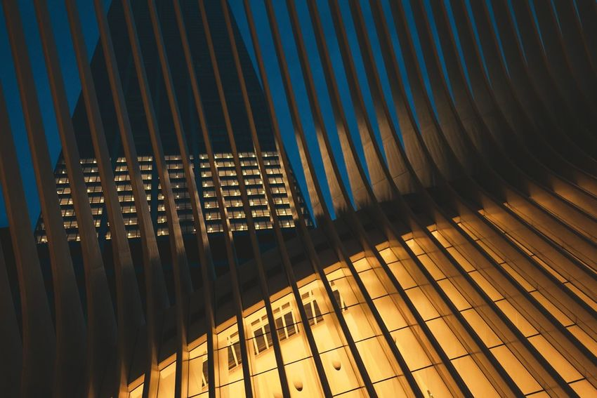 Oculus by Calatrava Architecture New York City Oculus Pattern Built Structure Architecture No People Metal Building Exterior Repetition Building Outdoors The Architect - 2018 EyeEm Awards