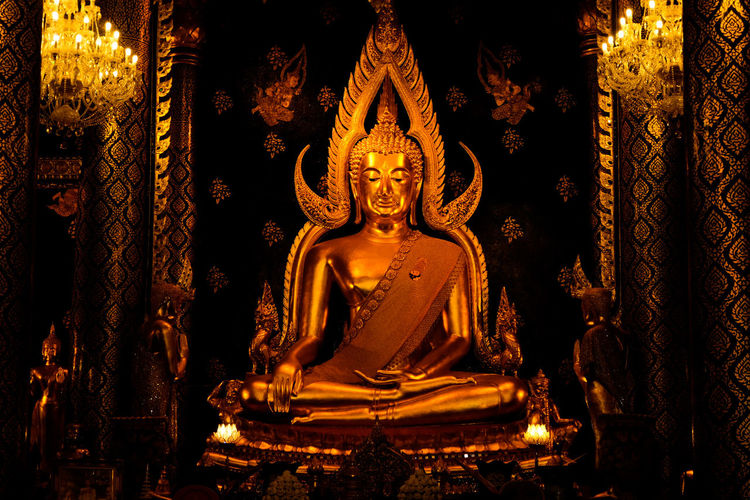 Buddha image in Phitsanulok Statue Sculpture Religion Gold Indoors  Gold Colored Shiny Idol No People Spirituality Close-up Day Phitsanulok Religious Place Religious Art Buddha Statue Ancient History Travel Culture Thailand🇹🇭 Architecture Spirituality Civilization City Life Landmarks