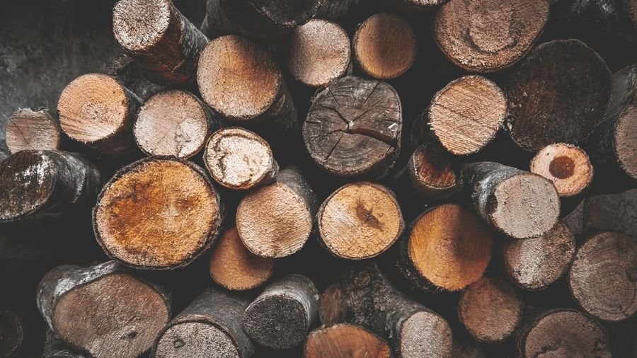Forestry Industry Woodpile Stack Backgrounds Heap Timber Log Pattern Deforestation Wood Lumber Industry Wooden Pile Environmental Damage