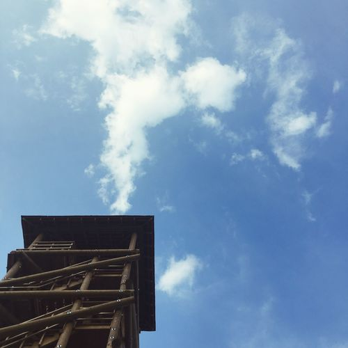 Sky Cloud - Sky Low Angle View Architecture Built Structure Building Exterior Nature No People Day Outdoors