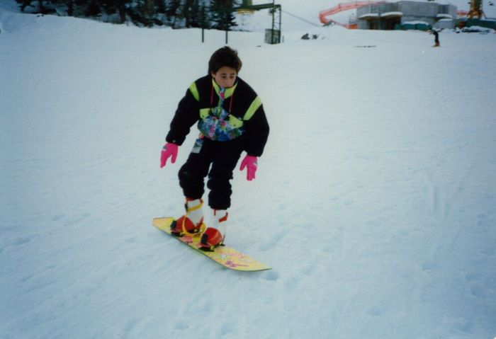 Snow Sports Firstday Snowboarding Switzerland Old-fashioned Passion Fluo