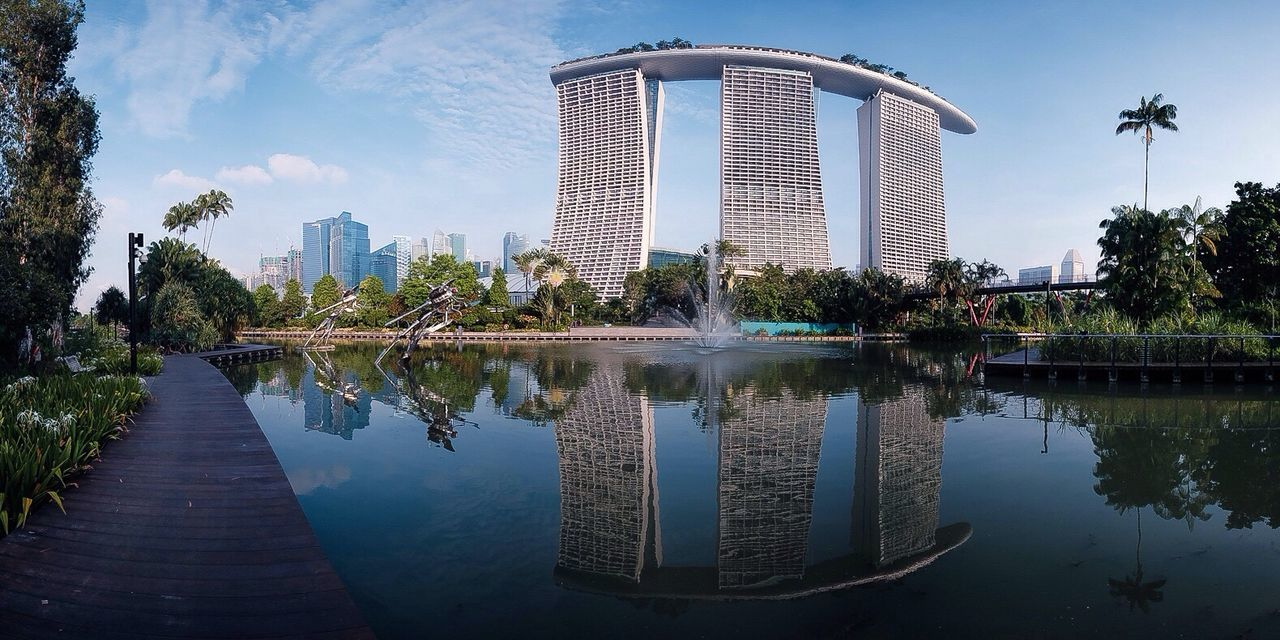 Reflection Panorama Travel Classicchrome Reflection Cityscapes Singapore The Architect - 2016 EyeEm Awards Envision The Future