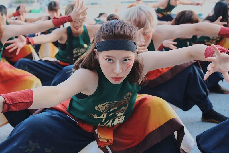 Dance Festival Real People Lifestyles Group Of People Women Leisure Activity People Celebration Portrait Looking At Camera Togetherness Females Girls