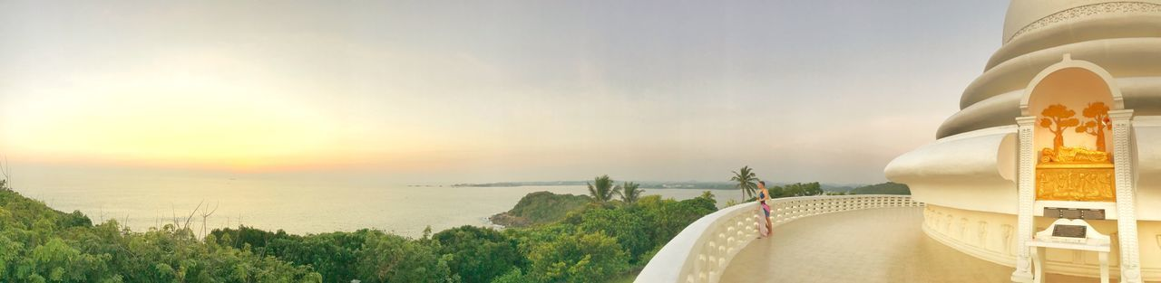 The world within.... Panorma Sri Lanka Temple Buddhism Nature Sky Day