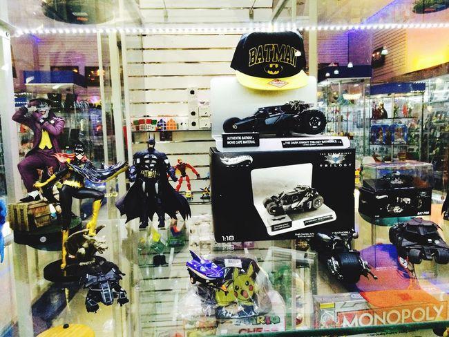 Overwhelmed In Heaven Shopping Batman ❤