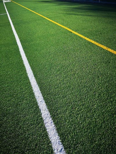Lines III Soccer Field Sport Playing Field Backgrounds Soccer Full Frame Team Sport Turf High Angle View Grass