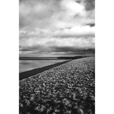 Ostfriesland No. 6 Ostfriesland Wattenmeer Watt Sea Blackandwhite Monochrome Outdoors Nature Landscape Winter Storm Clouds Germany The Week On EyeEm Pico Photooftheday No People Shades Of Winter