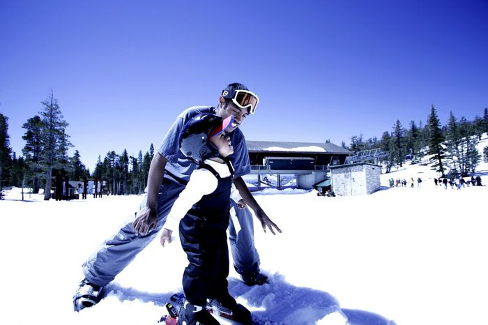 w/ UncleAndrew, 2012. Snow Snow ❄ Snow❄⛄ Canon 7D Canon 10-22mm Lake Tahoe 1stSnow