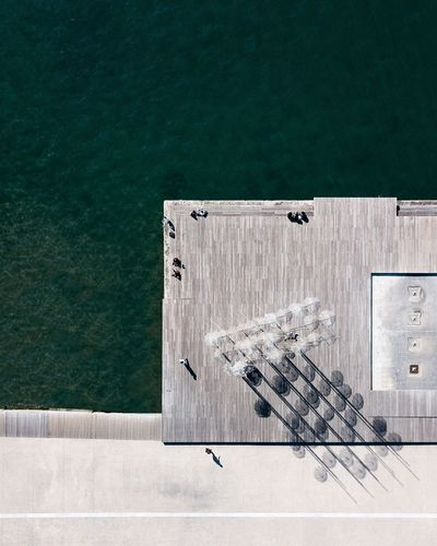 Minimalobsession Minimal Minimalism TheWeekOnEyeEM Greece Thessaloniki Aerialphotography Aerial Shot Aerial View Mavic Pro Droneshot Dronephotography Drone  Dji No People Day Water Outdoors Architecture Built_Structure Fresh On Market 2018