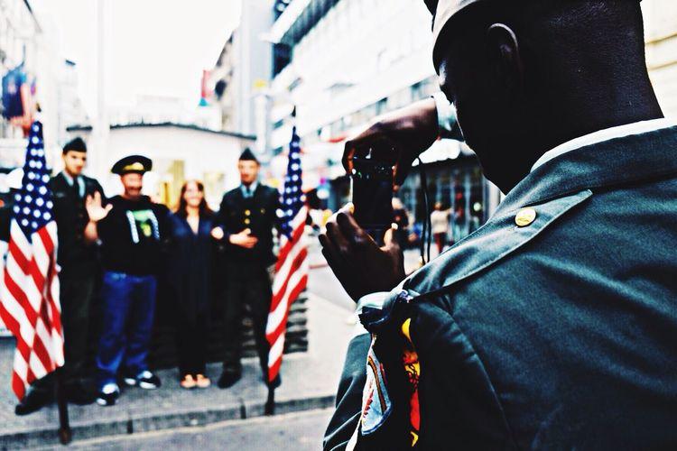 Berlin Fuji X-T1 Street Photography Checkpointcharlie