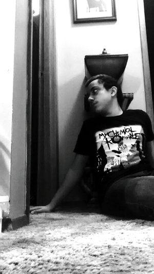 Showcase: November November Blackandwhite Mychemicalromance Emo Sitting Staringintothewall Alone Time Kid First Eyeem Photo