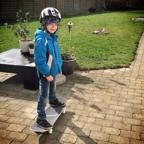 Mathias on his new Madrid Freestyle Skateboard.? #skateboard #madrid #freestyle