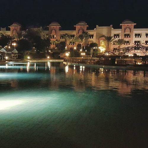 Night In Egypt Sohotweather lightspoolhotelbynighthurghada