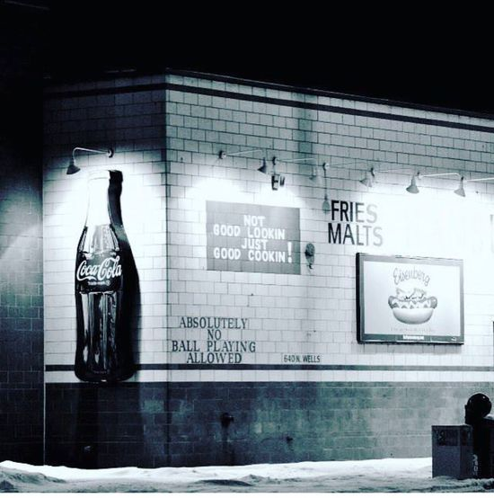 Welcome To Black Chicago First Eyeem Photo Nostalgia Winter Vibes Old Diner