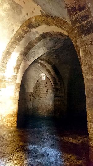 Kur Castle Arch Architecture History Kur Castle Kurdistan Old Ruin Palestine Tulkarm