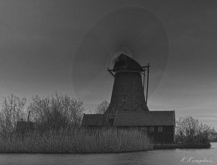 Outdoors Black & White Nikon windmill