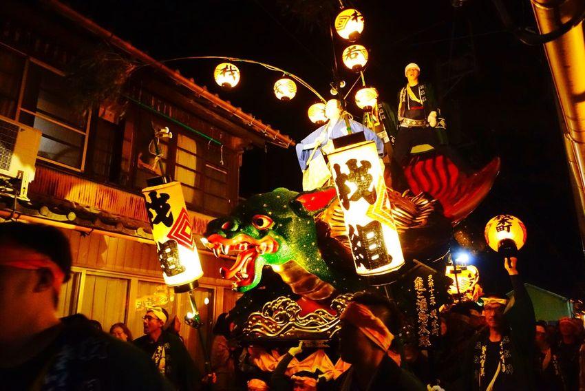 一応上に浦島太郎乗ってる 山笠の名前は「亀と浦島太郎」 亀の迫力 唐津くんち Cultures Karatsukunchi 祭 Festival Matsuri