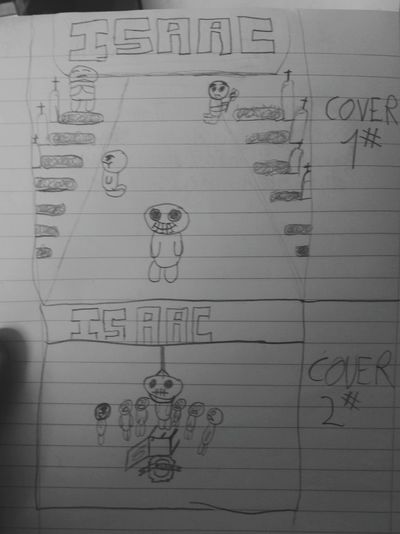 Isaac Comic Cover1 or Cover2 ?