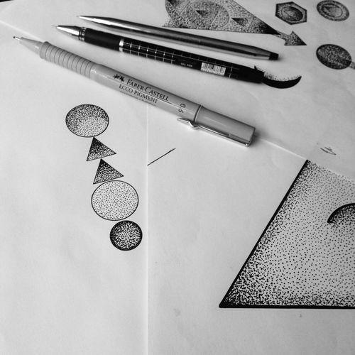 Dotwork Black And White Black Dotwok art Tattoos Araf Art Tattoo Tattooartist  That's Me Art ArtWork