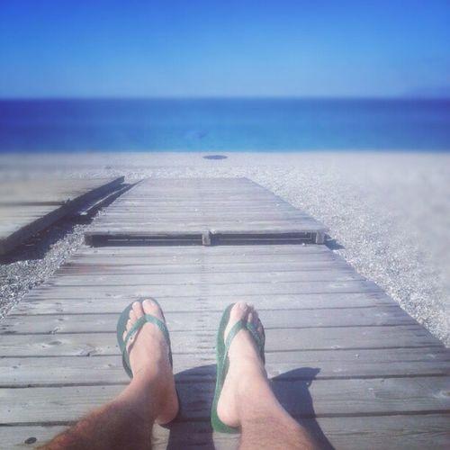 Havaianas on the sea carpet Octobersea Sicily Silence Instadaily Igersitalia