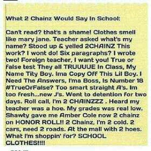 Tru LOL 2 Chainz