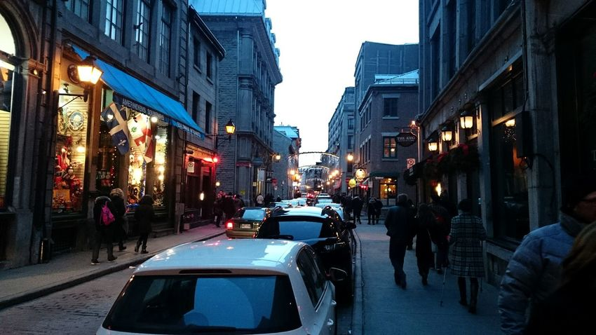 Rue St. Paul at christmas
