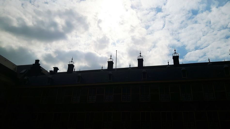 Architecture Cloud - Sky Built Structure Outdoors Building Exterior No People Politics And Government Parliament Building Week Of Eyeem The Hague, The Netherland The Netherland❤