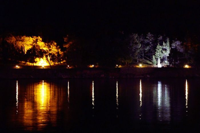 Night Reflection Illuminated Water No People Waterfront Lake Outdoors Tranquility Tree Nature Tranquil Scene Beauty In Nature EyeEmBestPics Sky Eyemphotography EyeEm Best Shots Eyem Gallery Galaxidi Greece Eyem Best Edits Horizon Over Water Outdoor Photography Greece Naturebeauty
