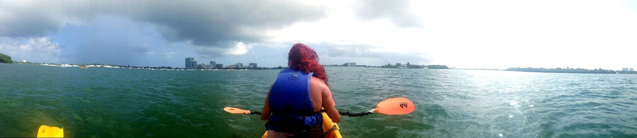 So even after I was accidentally hit upside my head I was able to enjoy and cherish these Memories. SoBlessed Miamigirl Kayaking Under The Influence Badidea MaryJane Shemademedoit. Lol