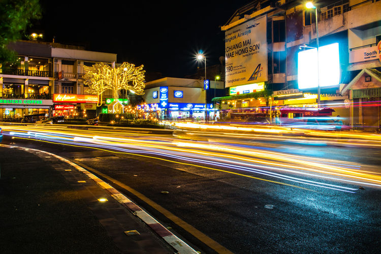Chiang Mai | Thailand Cityscape Cityscapes Light Long Exposure Street Photography Thapae Gate Travel