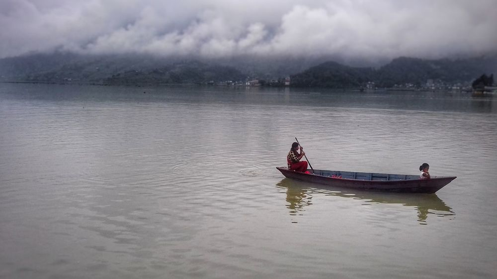 Where journey never ends Nautical Vessel Two People Adult River People Transportation Landscape Outdoors Water Nature Sitting Day Women Oar Child Togetherness Pokhara, Nepal Pokhara Lakesideview Pokharalake Nature_collection Nature_perfection Nature Photography Beauty In Nature
