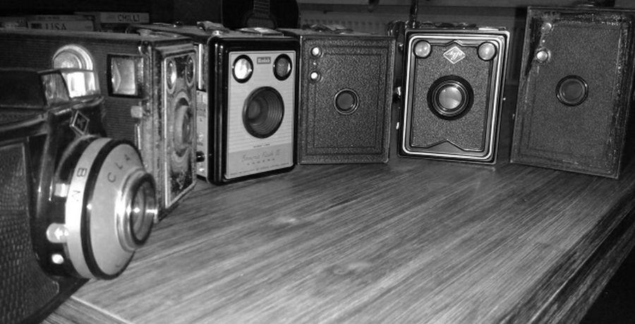 Vintage Cameras Agfa Boxbrownie