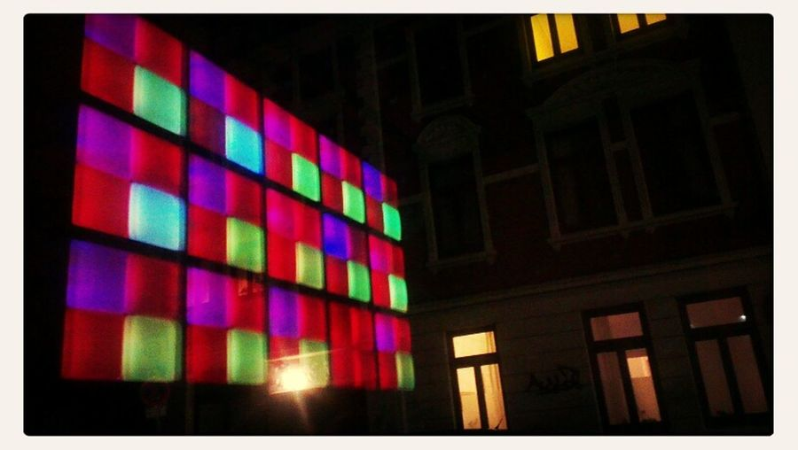 Light Art Window Bricks'n'windows